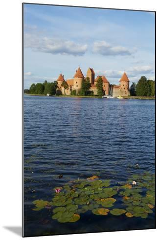 Island Castle of Trakai Near Vilnius, Lithuania, Europe-Bruno Morandi-Mounted Photographic Print