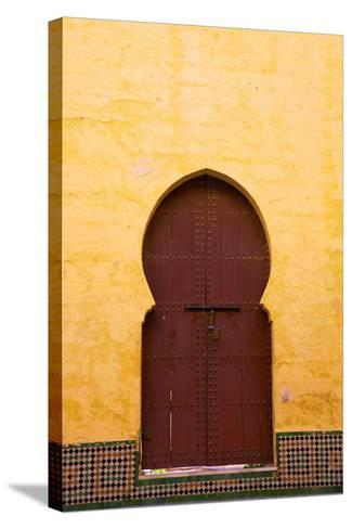 Gate to Medina, Meknes, Morocco, North Africa, Africa-Neil Farrin-Stretched Canvas Print