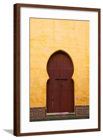 Gate to Medina, Meknes, Morocco, North Africa, Africa-Neil Farrin-Framed Art Print