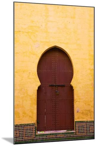 Gate to Medina, Meknes, Morocco, North Africa, Africa-Neil Farrin-Mounted Photographic Print