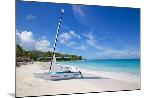 Long Bay and Beach and Hobie Cat, Antigua, Leeward Islands, West Indies, Caribbean, Central America-Frank Fell-Mounted Photographic Print