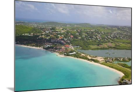 View of Dickinson Bay and Beach, Antigua, Leeward Islands, West Indies, Caribbean, Central America-Frank Fell-Mounted Photographic Print