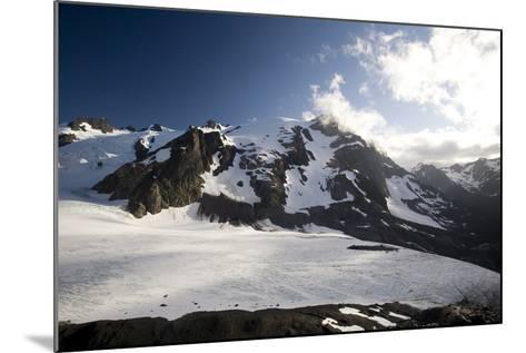 Mount Olympus and Blue Glacier-Colin Brynn-Mounted Photographic Print