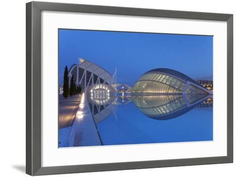 Hemisferic and Museo De Las Ciencias-Markus Lange-Framed Art Print