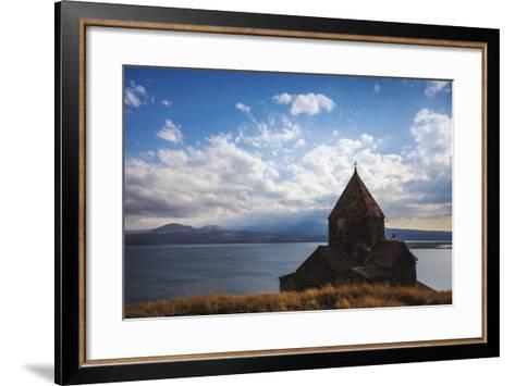 Sevanavank Monastery, Lake Seven, Armenia, Central Asia, Asia-Jane Sweeney-Framed Art Print