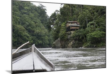 On the Madre De Dios River, Peru, South America-Peter Groenendijk-Mounted Photographic Print