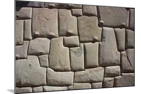Magnificent Inca Wall, Cuzco, UNESCO World Heritage Site, Peru, South America-Peter Groenendijk-Mounted Photographic Print