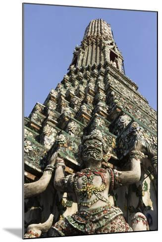 Wat Arun (The Temple of Dawn) Stupa, Bangkok, Thailand, Southeast Asia, Asia-Stuart Black-Mounted Photographic Print