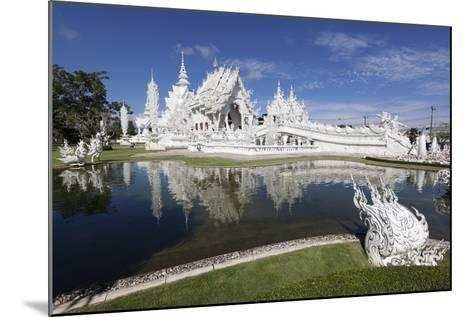 Wat Rong Khun (White Temple), Chiang Rai, Northern Thailand, Thailand, Southeast Asia, Asia-Stuart Black-Mounted Photographic Print