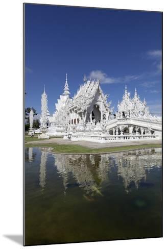 Wat Rong Khun (White Temple), Chiang Rai, Northern Thailand, Thailand, Southeast Asia, Asia-Stuart Black-Mounted Photographic Print