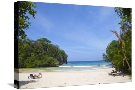 Frenchman's Cove, Portland Parish, Jamaica, West Indies, Caribbean, Central America-Doug Pearson-Stretched Canvas Print