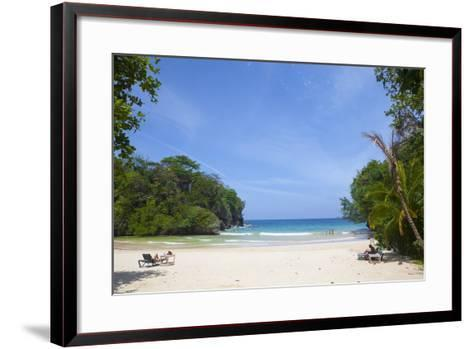 Frenchman's Cove, Portland Parish, Jamaica, West Indies, Caribbean, Central America-Doug Pearson-Framed Art Print