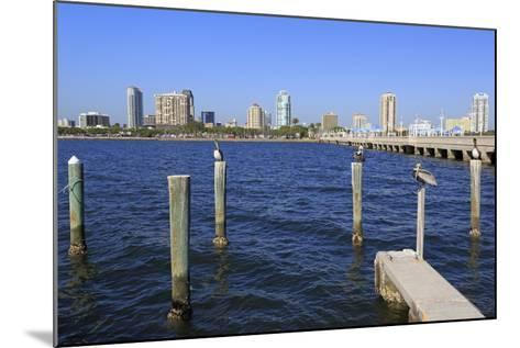 St. Petersburg Skyline, Tampa, Florida, United States of America, North America-Richard Cummins-Mounted Photographic Print