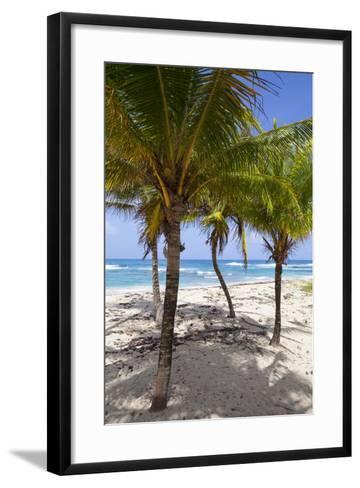 Long Bay, East Coast, Portland Parish, Jamaica, West Indies, Caribbean, Central America-Doug Pearson-Framed Art Print