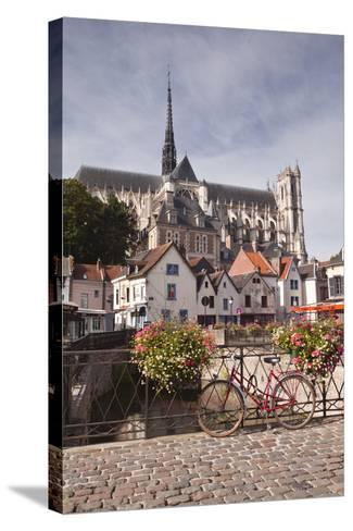 Notre Dame D'Amiens Cathedral-Julian Elliott-Stretched Canvas Print