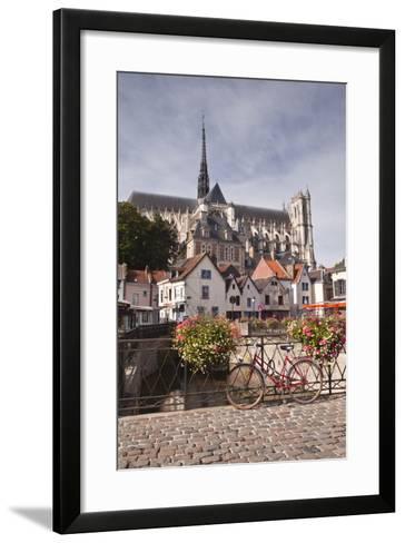 Notre Dame D'Amiens Cathedral-Julian Elliott-Framed Art Print