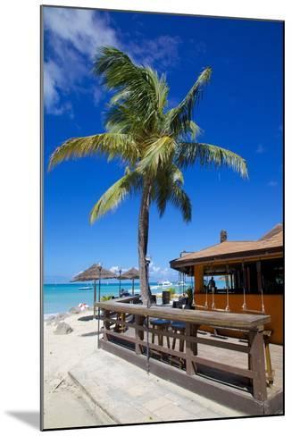 Beach and Beach Bar-Frank Fell-Mounted Photographic Print