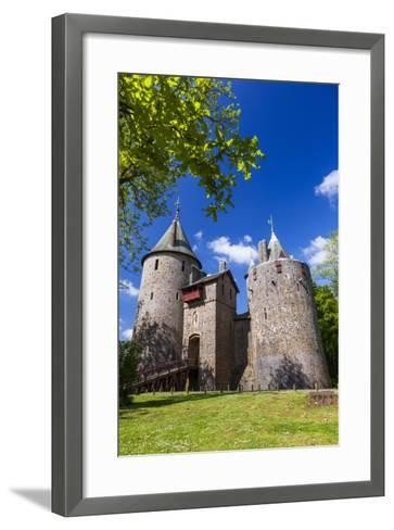 Castell Coch (Castle Coch) (The Red Castle), Tongwynlais, Cardiff, Wales, United Kingdom, Europe-Billy Stock-Framed Art Print