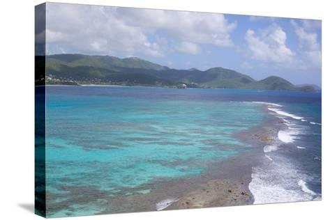 View over South Coast and Coral Reef-Frank Fell-Stretched Canvas Print