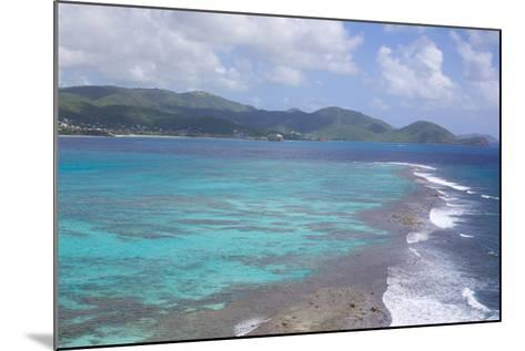 View over South Coast and Coral Reef-Frank Fell-Mounted Photographic Print