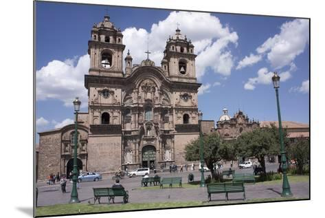 Company of Jesus Church, Plaza De Armas, Cuzco, Peru, South America-Peter Groenendijk-Mounted Photographic Print