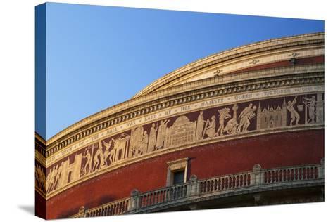 Exterior of Royal Albert Hall, Kensington, London, England, United Kingdom, Europe-Peter Barritt-Stretched Canvas Print