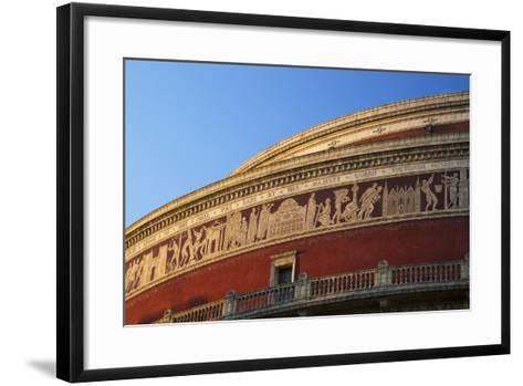 Exterior of Royal Albert Hall, Kensington, London, England, United Kingdom, Europe-Peter Barritt-Framed Art Print