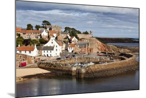 Incoming Tide at Crail Harbour, Fife, Scotland, United Kingdom, Europe-Mark Sunderland-Mounted Photographic Print