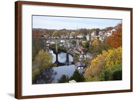 Viaduct over the River Nidd at Knaresborough-Mark Sunderland-Framed Art Print