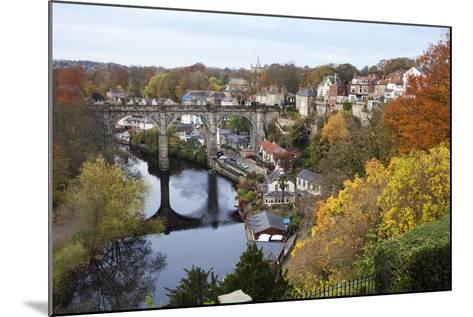 Viaduct over the River Nidd at Knaresborough-Mark Sunderland-Mounted Photographic Print
