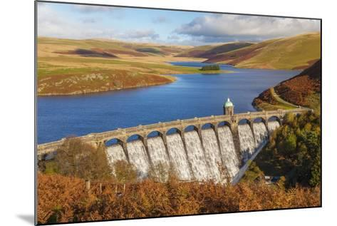 Craig Goch Dam, Elan Valley, Powys, Mid Wales, United Kingdom, Europe-Billy Stock-Mounted Photographic Print