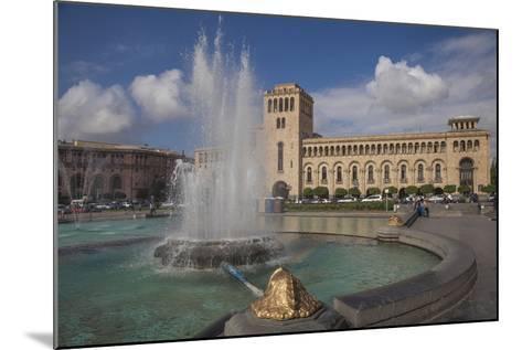Republic Square, Yerevan, Armenia, Central Asia, Asia-Jane Sweeney-Mounted Photographic Print