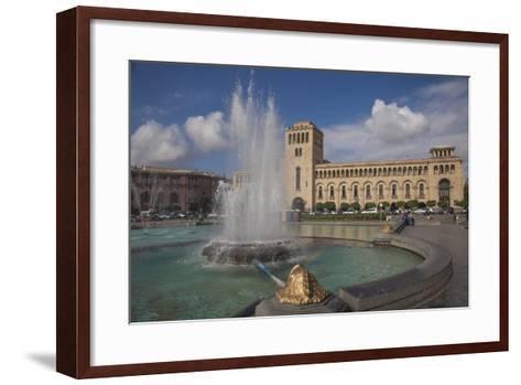Republic Square, Yerevan, Armenia, Central Asia, Asia-Jane Sweeney-Framed Art Print