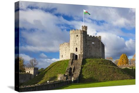 Norman Keep, Cardiff Castle, Cardiff, Wales, United Kingdom, Europe-Billy Stock-Stretched Canvas Print