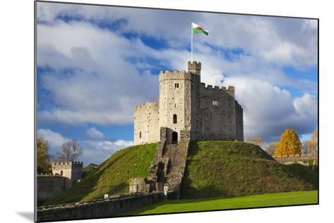 Norman Keep, Cardiff Castle, Cardiff, Wales, United Kingdom, Europe-Billy Stock-Mounted Photographic Print