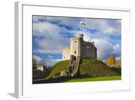 Norman Keep, Cardiff Castle, Cardiff, Wales, United Kingdom, Europe-Billy Stock-Framed Art Print