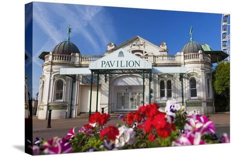Pavilion, Torquay, Devon, England, United Kingdom, Europe-Billy Stock-Stretched Canvas Print