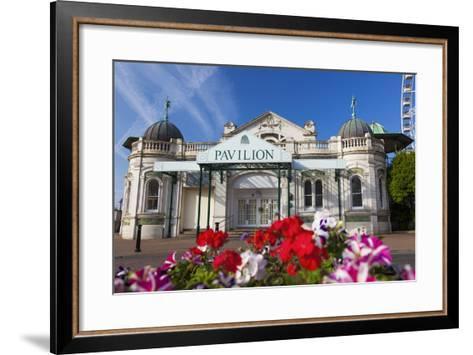 Pavilion, Torquay, Devon, England, United Kingdom, Europe-Billy Stock-Framed Art Print