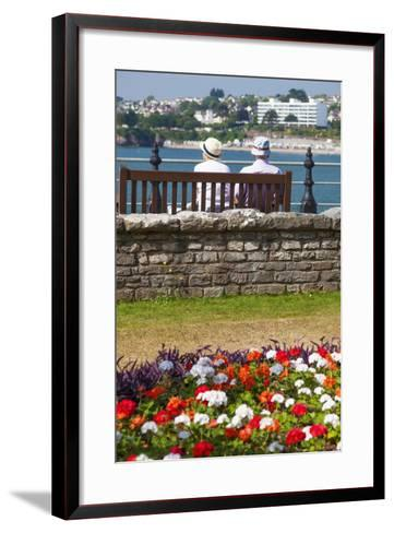 Seafront, Torquay, Devon, England, United Kingdom, Europe-Billy Stock-Framed Art Print