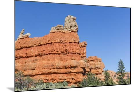 Red Sandstone Formations in Red Canyon-Michael Nolan-Mounted Photographic Print