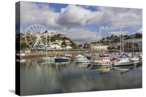 Harbour, Torquay, Devon. England, United Kingdom, Europe-Rolf Richardson-Stretched Canvas Print