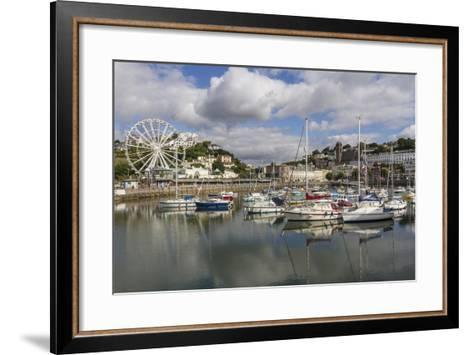 Harbour, Torquay, Devon. England, United Kingdom, Europe-Rolf Richardson-Framed Art Print