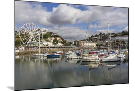 Harbour, Torquay, Devon. England, United Kingdom, Europe-Rolf Richardson-Mounted Photographic Print
