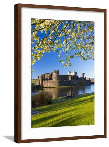 Caerphilly Castle, Gwent, Wales, United Kingdom, Europe-Billy Stock-Framed Art Print