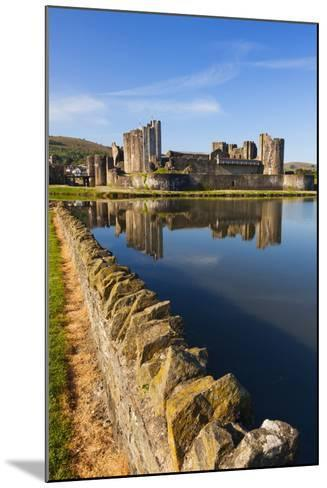 Caerphilly Castle, Gwent, Wales, United Kingdom, Europe-Billy Stock-Mounted Photographic Print