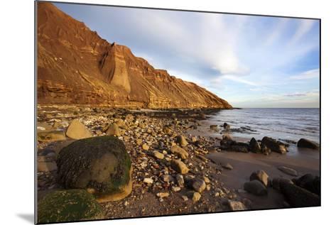Rocky Shoreline Below Carr Naze-Mark Sunderland-Mounted Photographic Print