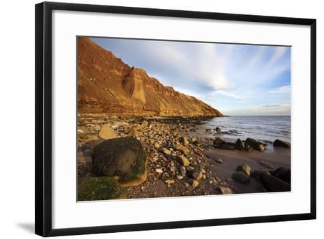 Rocky Shoreline Below Carr Naze-Mark Sunderland-Framed Art Print