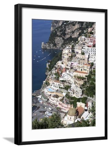View of Positano-Oliviero Olivieri-Framed Art Print