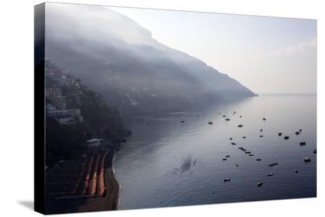 The Port of Positano-Oliviero Olivieri-Stretched Canvas Print