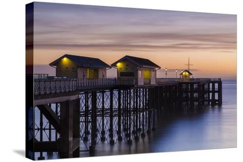 Penarth Pier, Near Cardiff, Vale of Glamorgan, Wales, United Kingdom, Europe-Billy Stock-Stretched Canvas Print